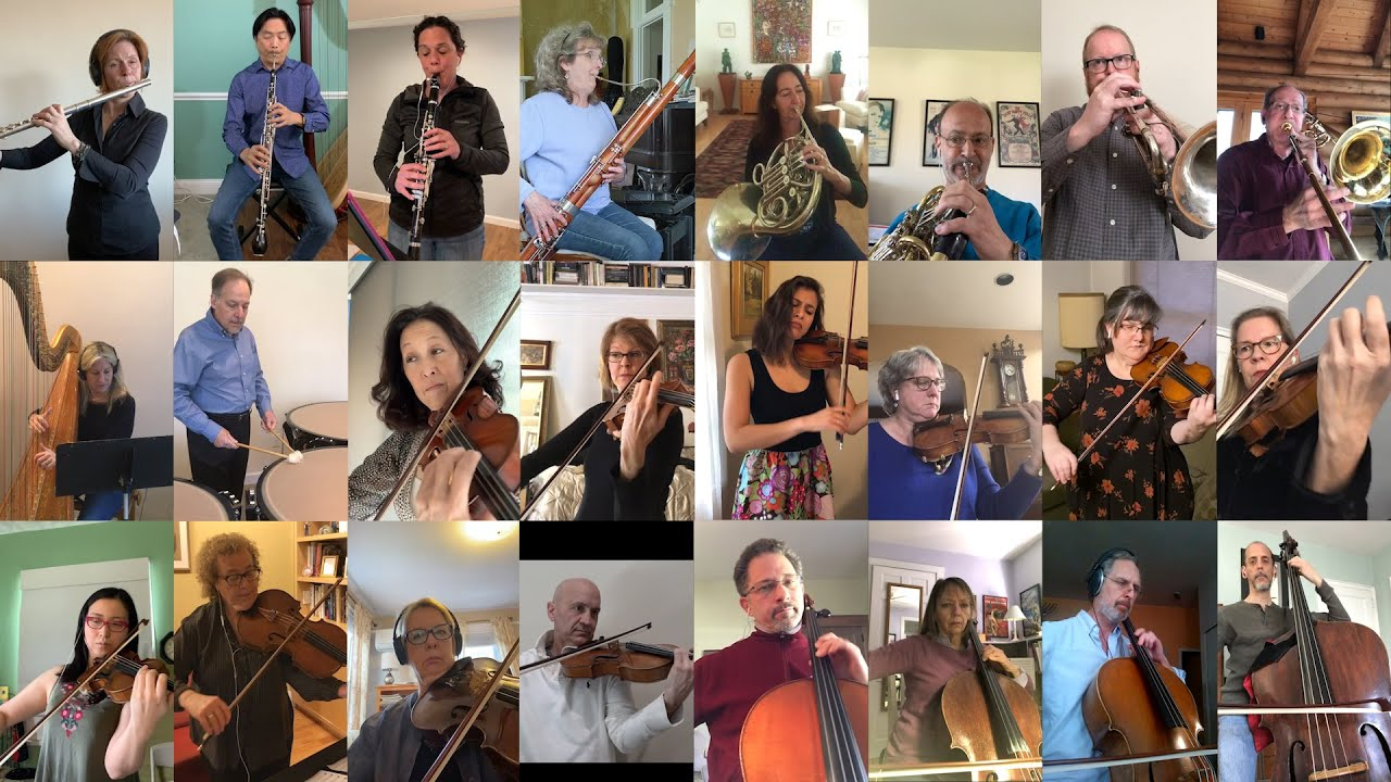 Stamford Symphony Musicians Perform Amazing Grace- Dedicated to Fairfield County Healthcare Workers