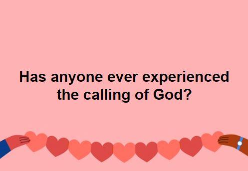 Calling of god
